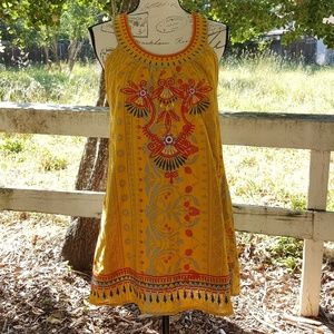 Boho Vibes Tunic/Mini Dress
